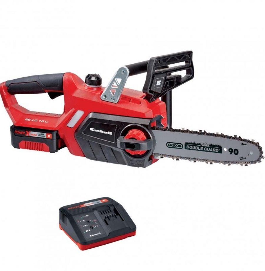 акумулаторен, верижен, трион, GE-LC, 18 Li Kit Power X-Change, einhell