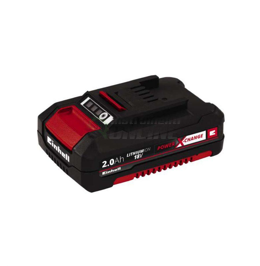 акумулаторна, батерия, Power X-Change 18 V, 2000 mAh, einhell