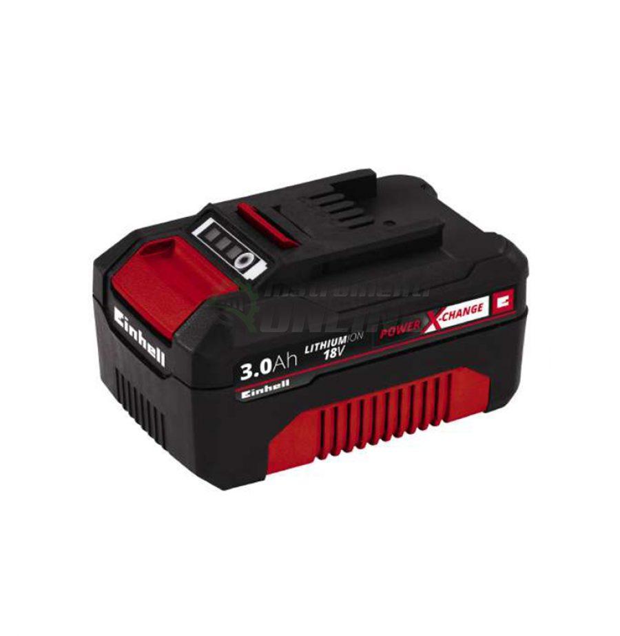 акумулаторна, батерия, Power X-Change 18 V, 3000 mAh, einhell