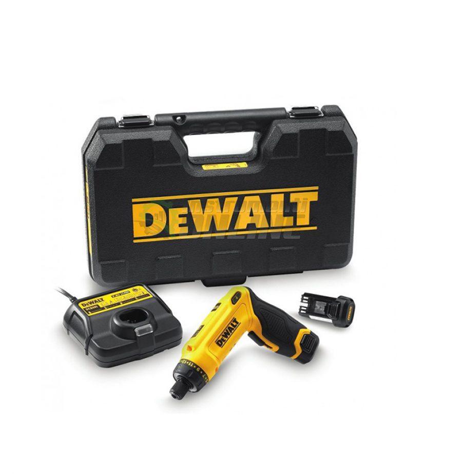 Акумулаторна, отвертка, жироскопично действие, DCF680G2, DeWALT