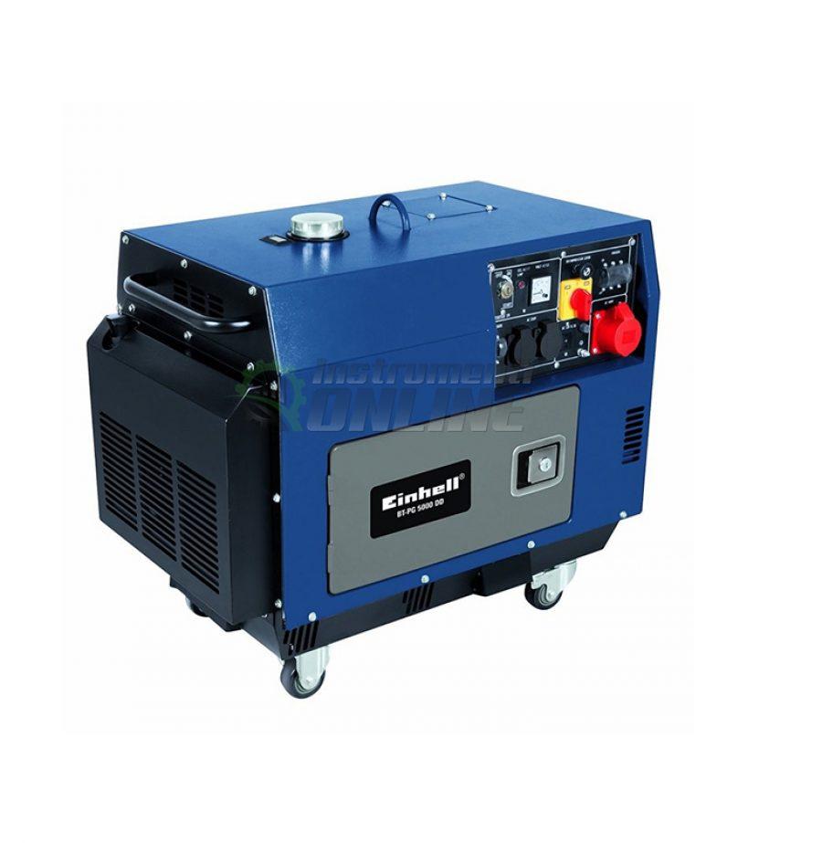 Дизелов, генератор, на ток, BT-PG 5000 DD, Einhell