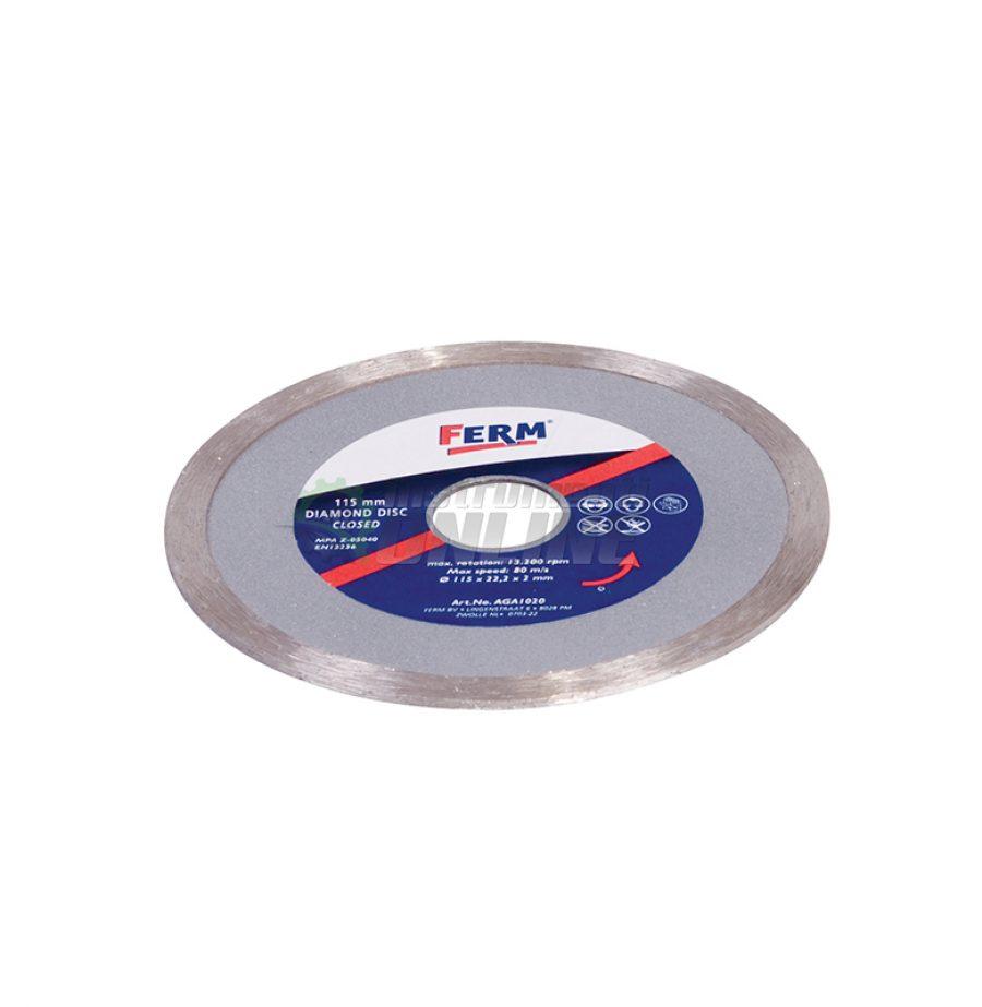 Диамантен диск, AGA1020, FERM