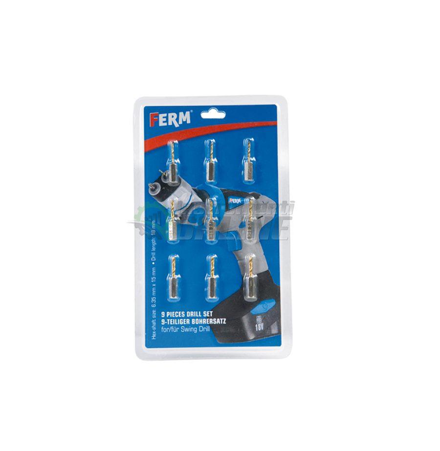 Накрайници за акумулаторна дрелка, CDA1064, FERM