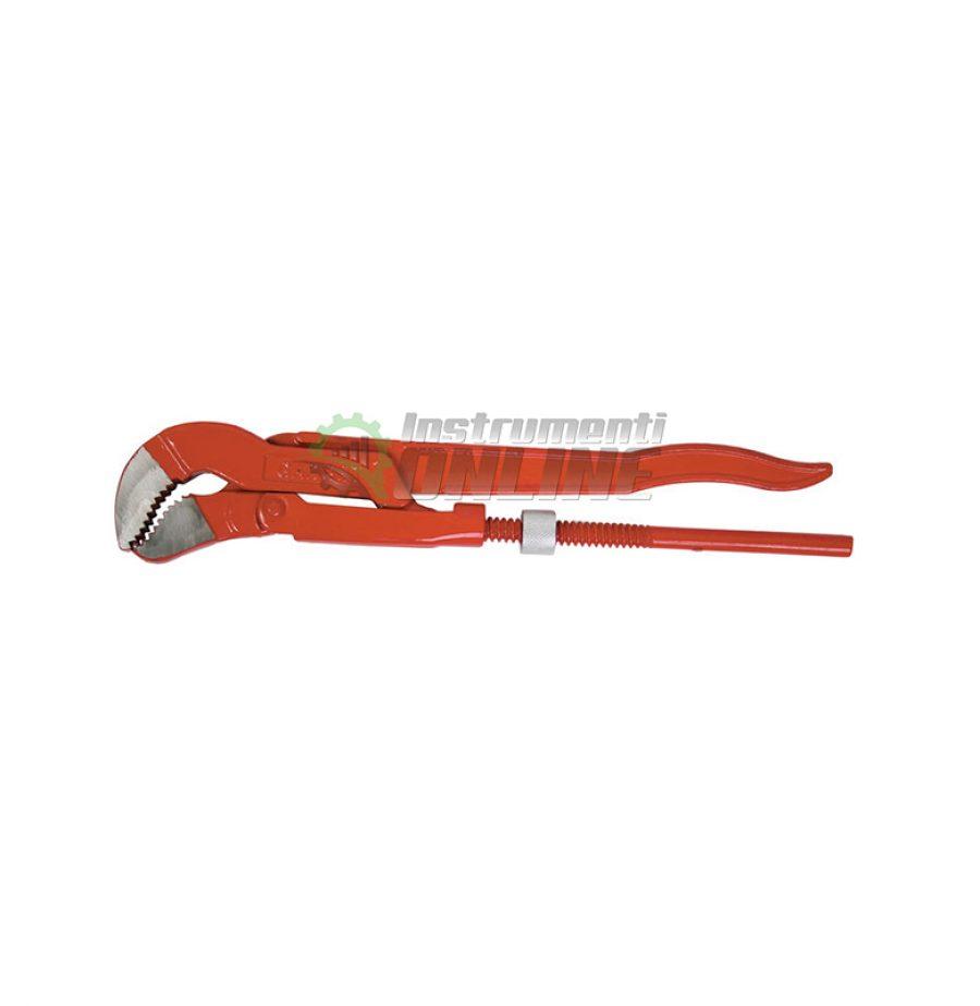 Ключ тръбен, двойно рамо, челюсти S, 45°, Gadget