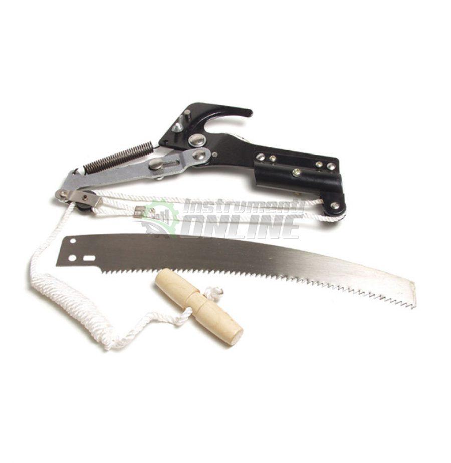 Комплект, градинска ножица, трион, трион за високо рязане, без дръжка, Top Garden