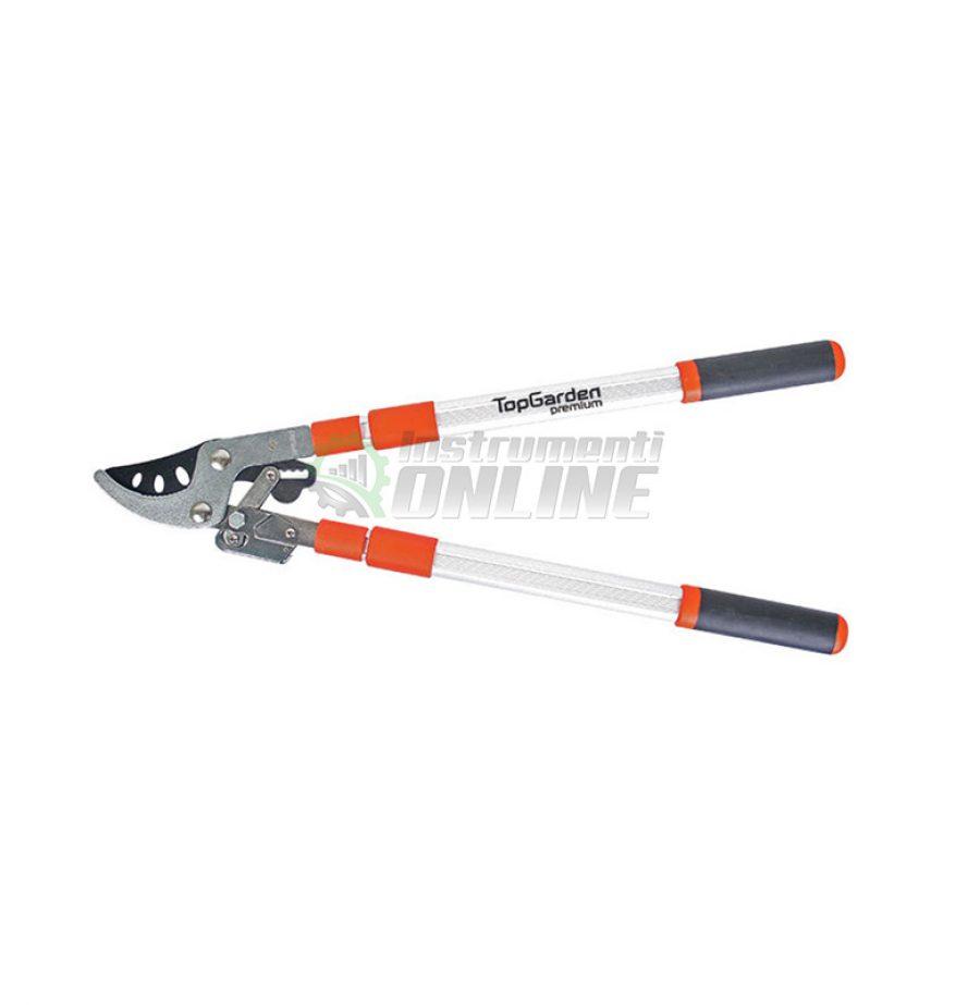 Рaзтегателна, алуминиева, ножица, ножица за клони, Top Garden, Premium