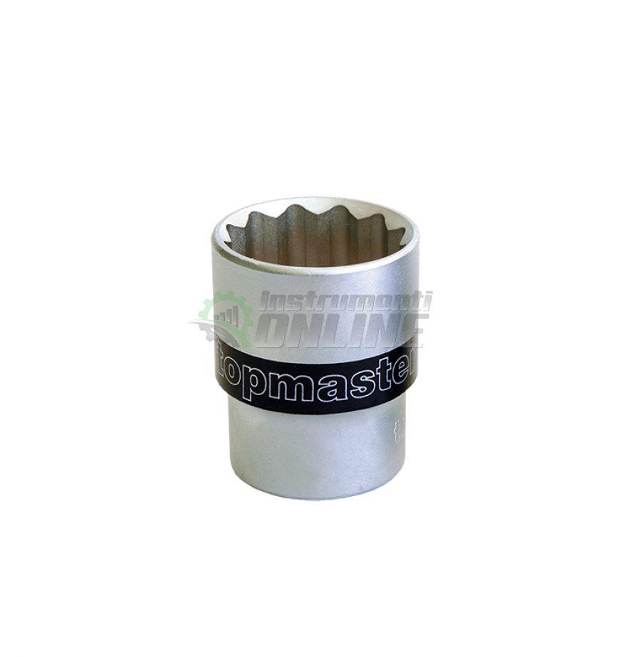 12, стенни, вложка, 1/2″, 15 мм, CR-V, Topmaster, Professional