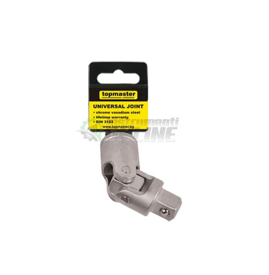 Кардан, подвижна свръзка, 3/8″, CR-V, Topmaster, Professional