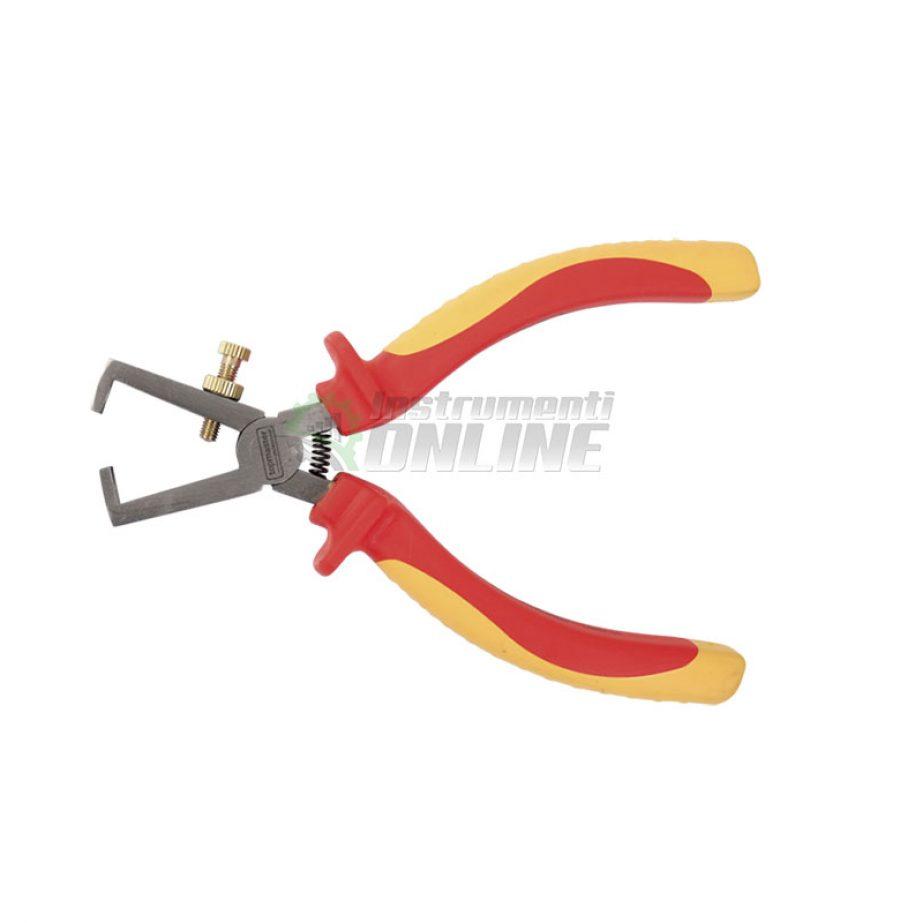 Клещи за кабел, клещи, почистване на кабел, 170 мм, 1000V, Topmaster, Professional