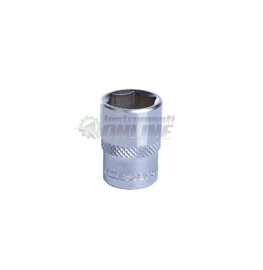 Къса, 6, стенна, вложка, 1/4, 12 мм, CR-V, Topmaster, Professional