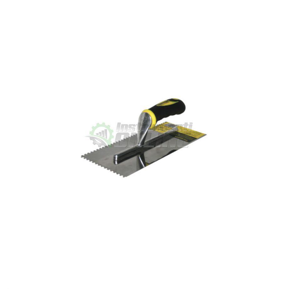 Маламашка, пластмасова, дръжка, 280 х 120 мм, с гребен, 6 x 6, Topmaster, Professional