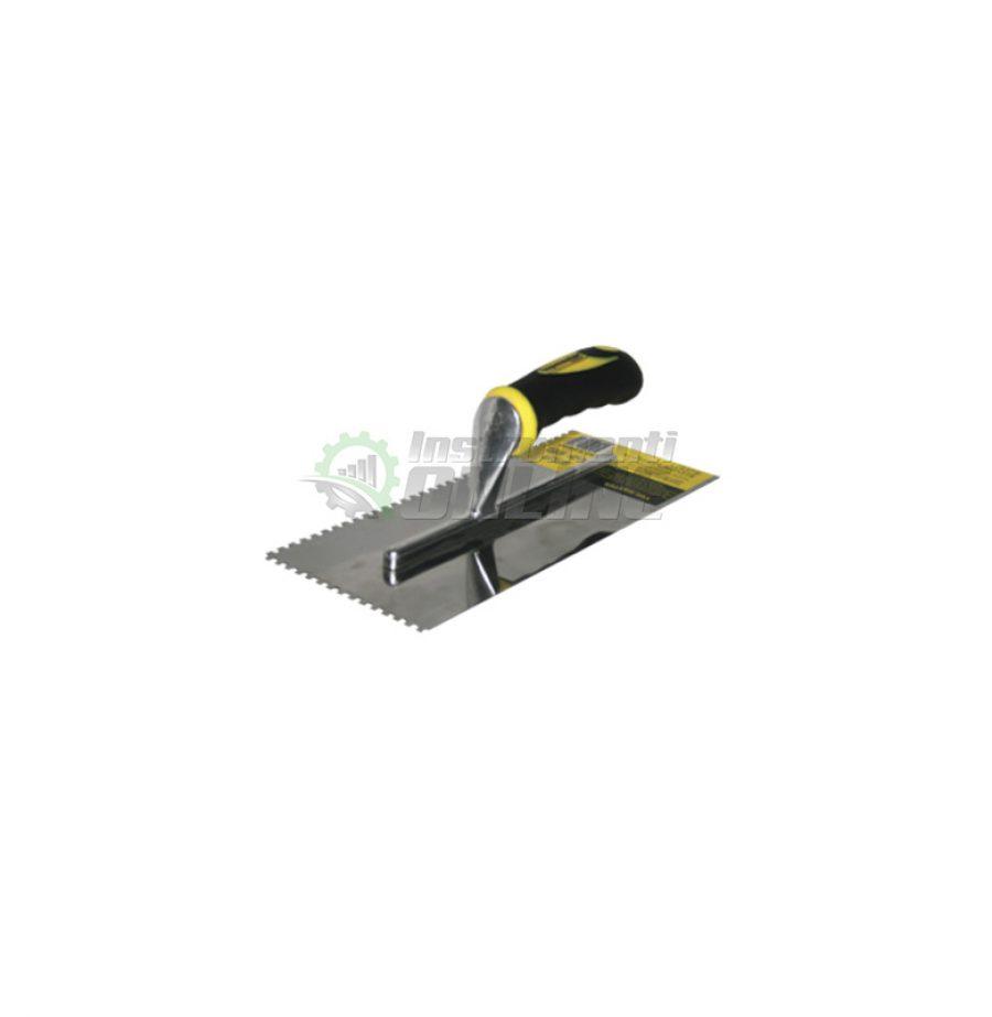 Маламашка пластмасова дръжка 280 х 130 мм с гребен 10 x 10 Topmaster Professional