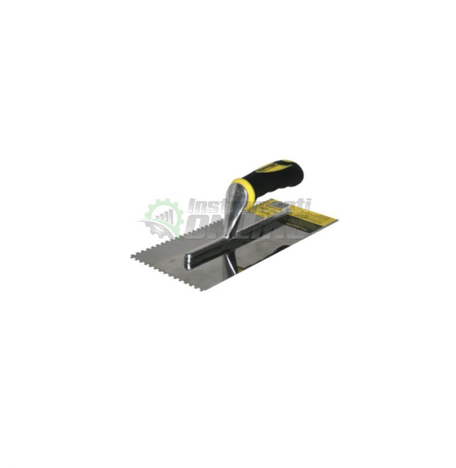 Маламашка, пластмасова, дръжка, 280 х 130 мм, с гребен, 8 x 8, Topmaster, Professional