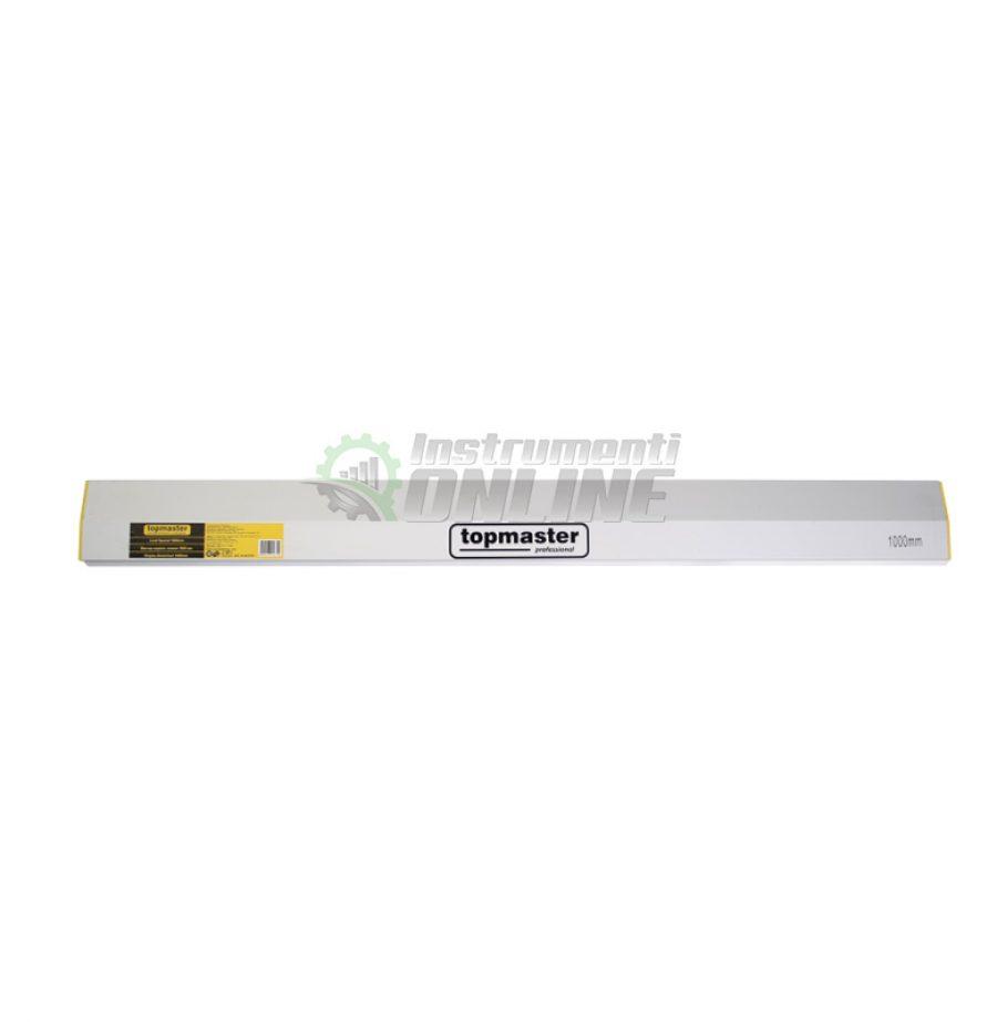 Мастар, алуминиев, скосен, 3000 мм, Topmaster, Professional