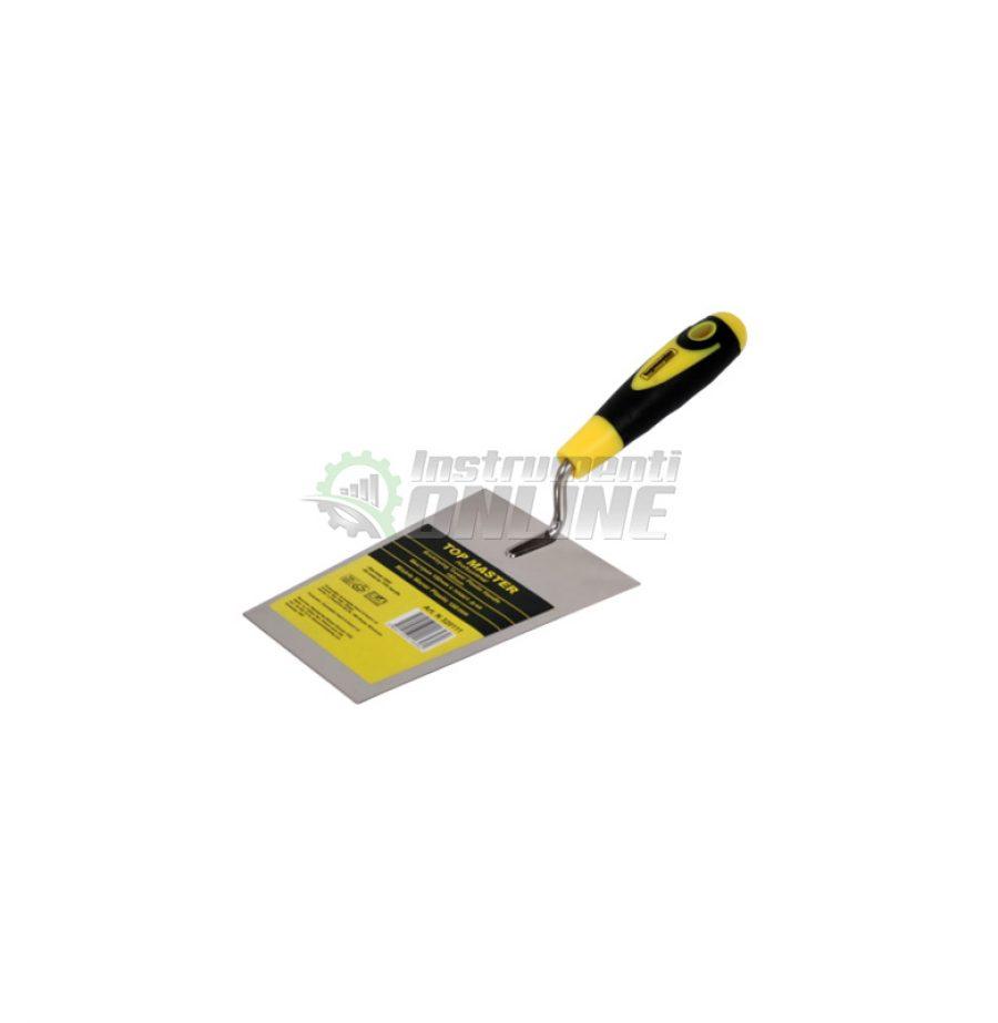 Мистрия трапец пластмасова дръжка 160 мм Topmaster Professional