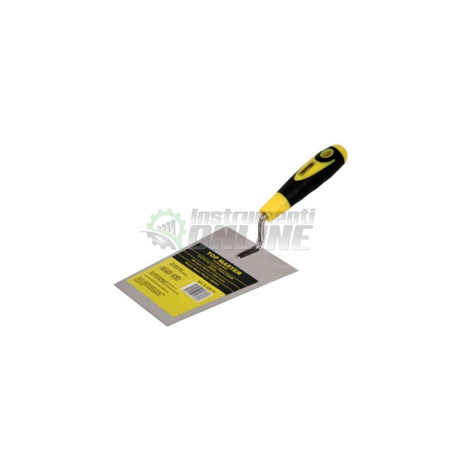 Мистрия трапец пластмасова дръжка 180 мм Topmaster Professional