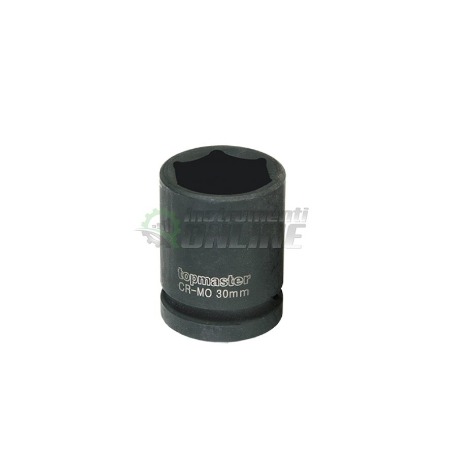 Ударна, 6 стенна, вложка, 1/2″, 16 мм, CR-MO, Topmaster, Professional