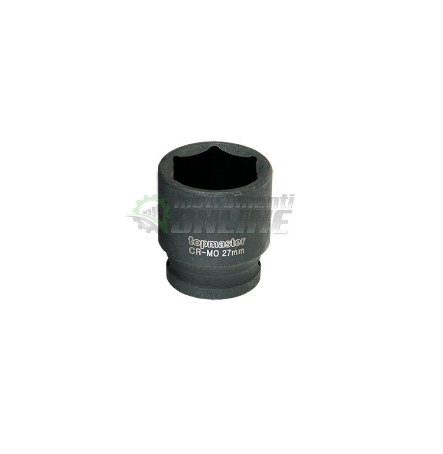 Ударна, 6 стенна, вложка, 36 мм, 3/4″, CR-MO, Topmaster, Professional