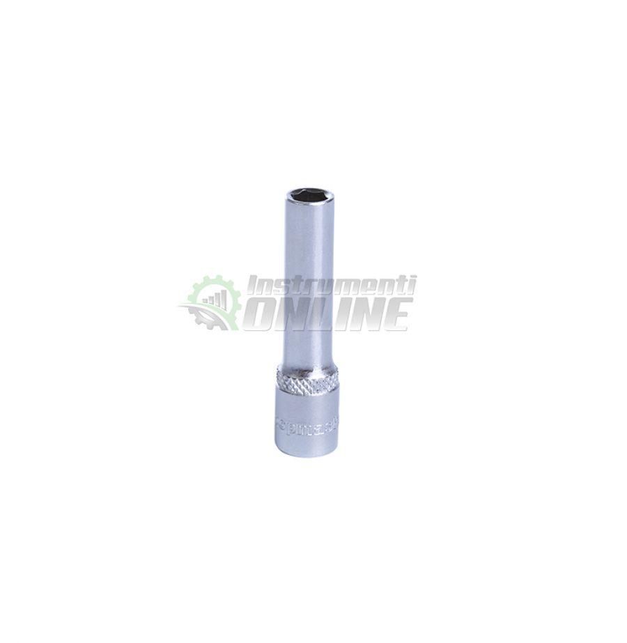 Удължена, 6, стенна, вложка, 11 мм, 1/4″, CR-V, Topmaster, Professional