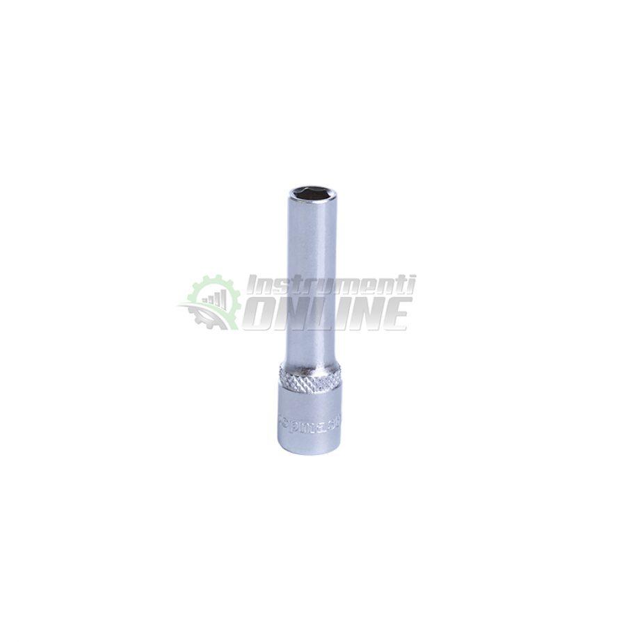 Удължена, 6, стенна, вложка, 13 мм, 1/4″, CR-V, Topmaster, Professional