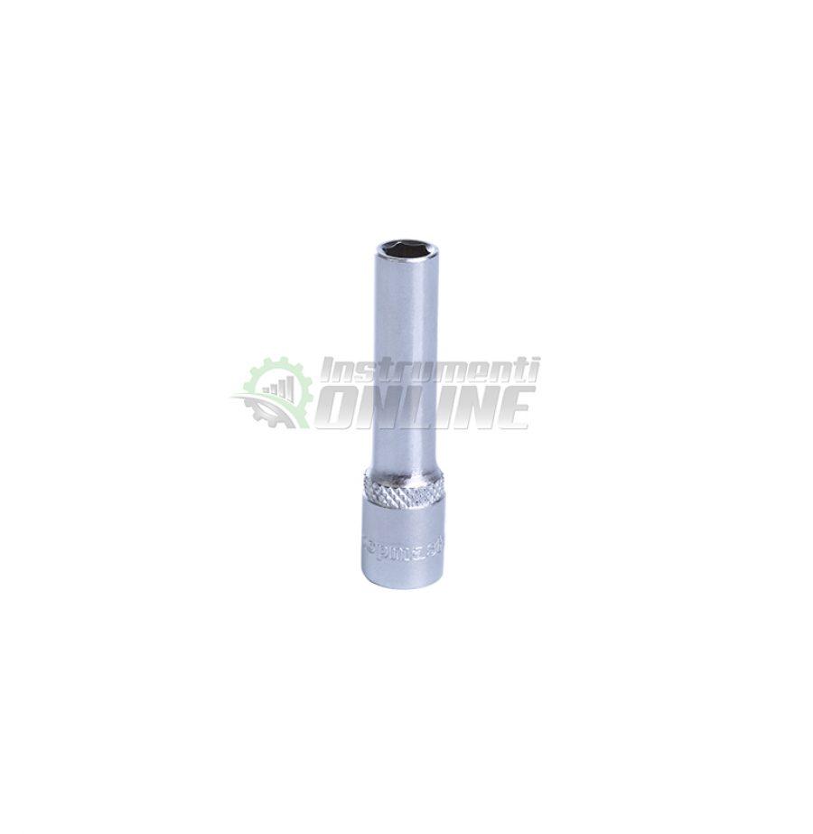 Удължена, 6 стенна, вложка, 4.5 мм, 1/4, CR-V, Topmaster, Professional