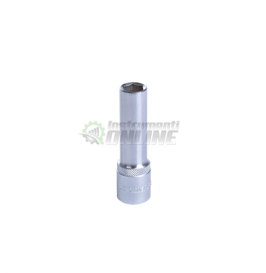 Удължена, вложка, 1/2″, 16 мм, CR-V, Topmaster, Professional