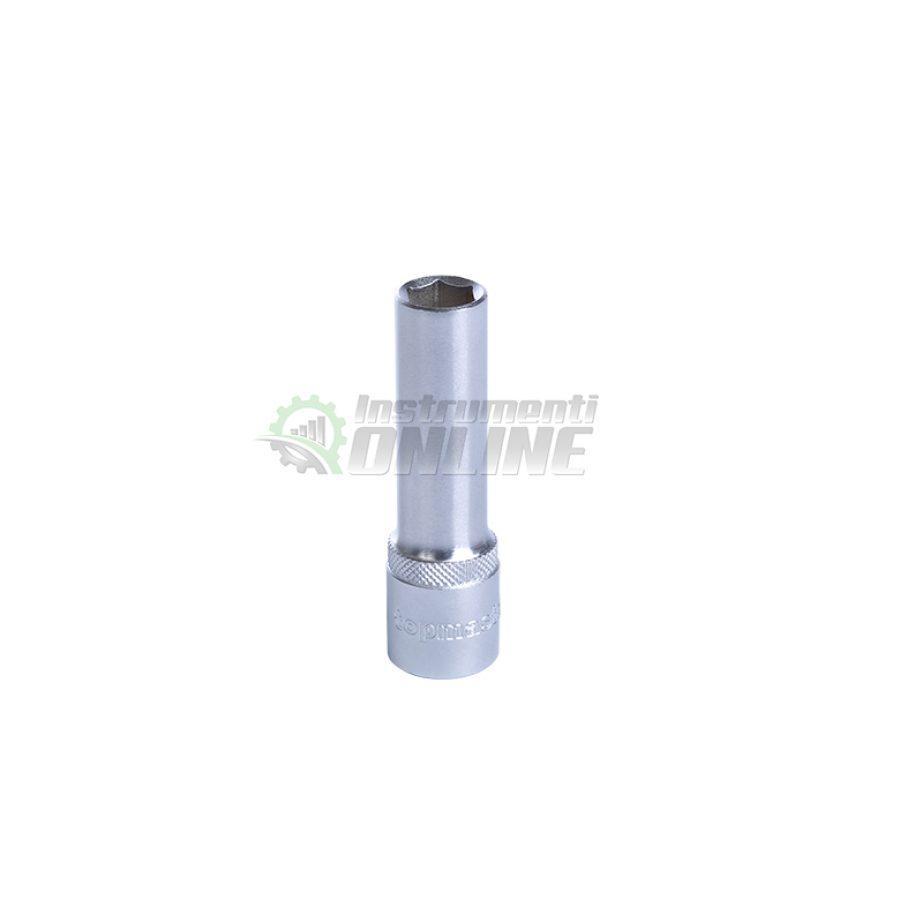Удължена, вложка, 1/2″, 17 мм, CR-V, Topmaster, Professional