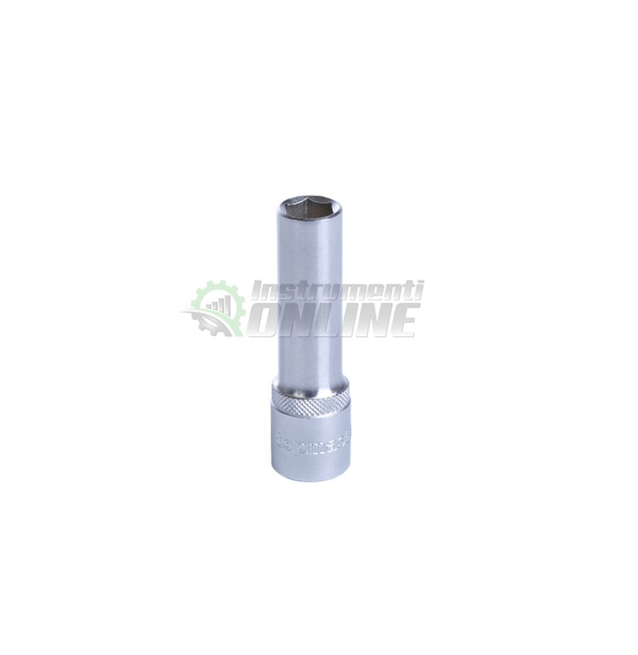 Удължена, вложка, 22 мм, 1/2″, CR-V, Topmaster, Professional