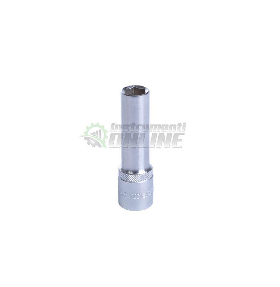 Удължена, вложка, 27 мм, 1/2″, CR-V, Topmaster, Professional