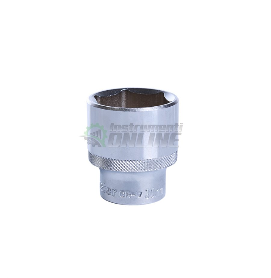 Вложка, 6 стенна, 1/2, 30 мм, CR-V, Topmaster, Professional