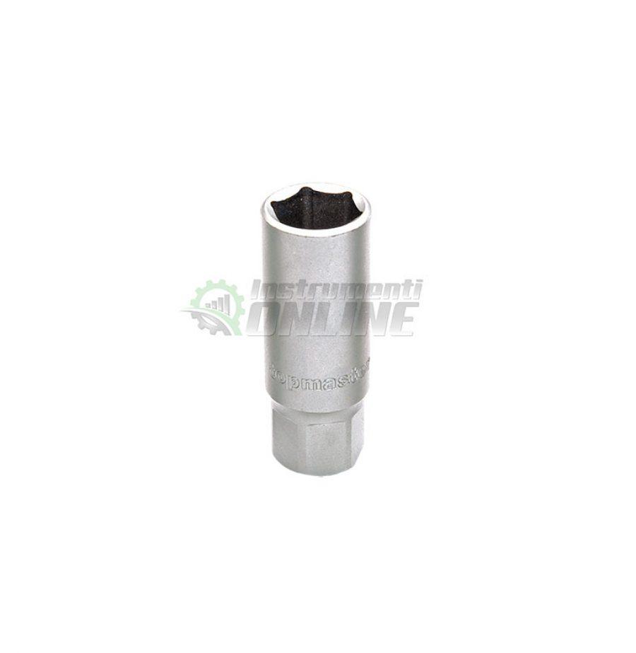 Вложка за свещи, 1/2″, 21 мм, CR-V, Topmaster, Professional