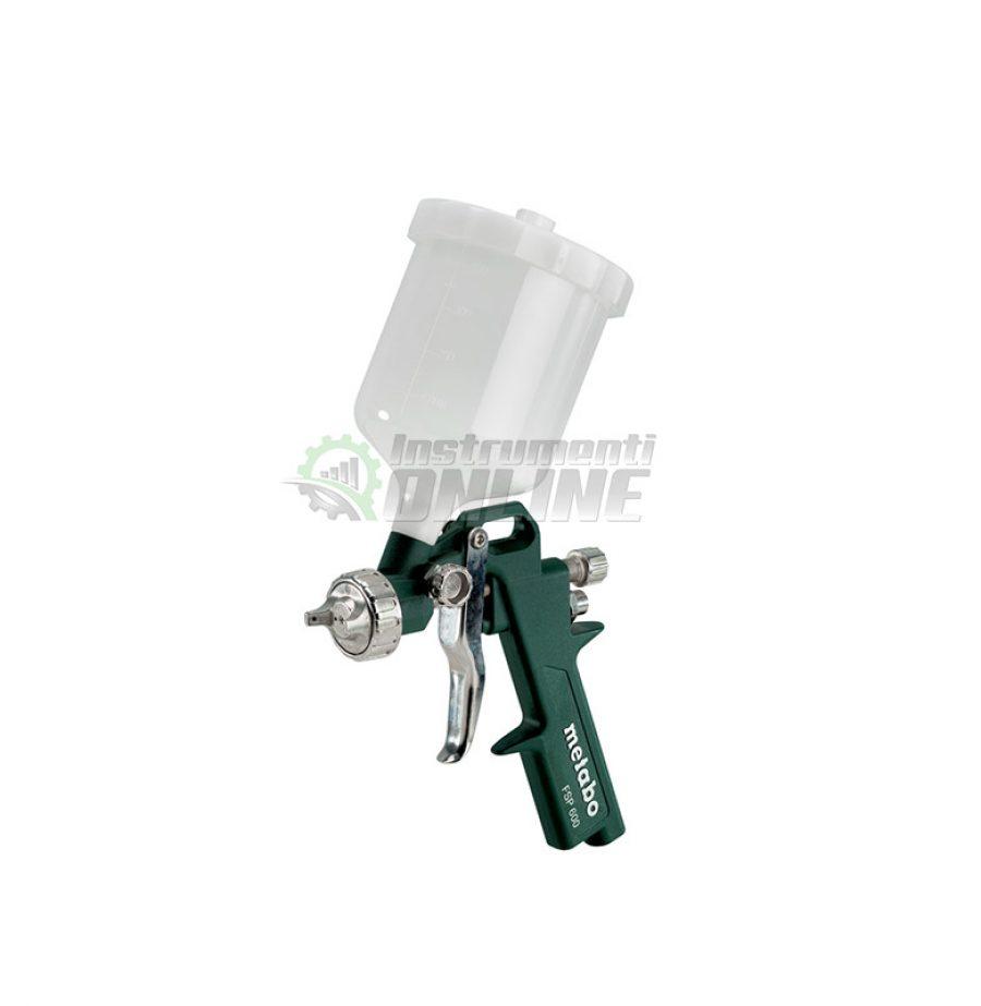 Бояджийски, пневматичен, пистолет, Бояджийски пистолет, пневматичен пистолет, FSP 600, Metabo