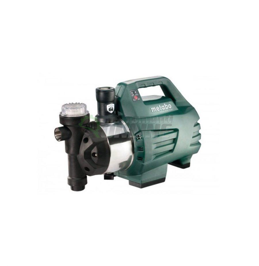 Хидрофор с електронен пресостат, 1300W, Metabo, HWAI 4500, INOX