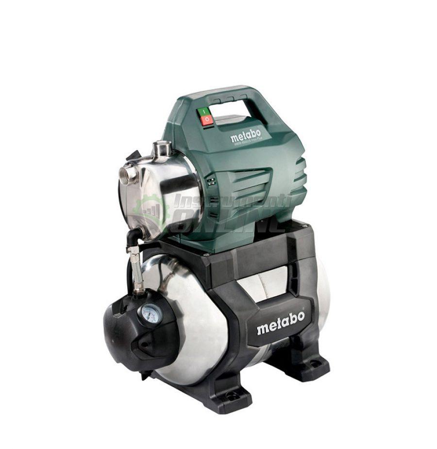 Хидрофорна помпа, хидрофор, 1300W, Metabo, HWW 4500/25, Inox Plus
