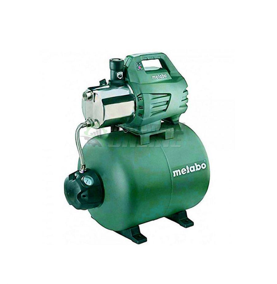 хидрофорни помпи, Хидрофорна помпа, хидрофор, 1300W, Metabo, HWW 6000/50, INOX