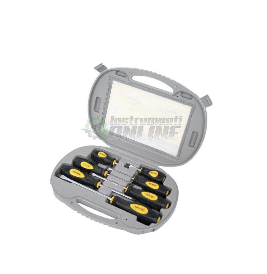 Комплект отвертки, отвертка, кръстата отвертка, права отвертка, отвертки, куфар, CR-V, Topmaster, Professional