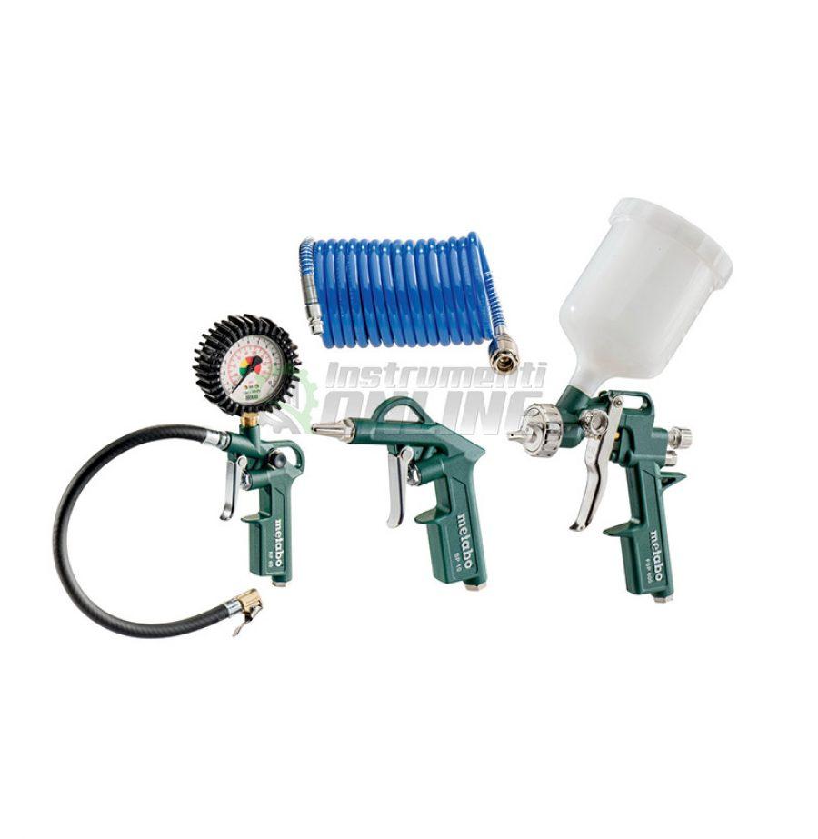 Комплект, пневматичен, пневматични инструменти, LPZ 4 SET, Metabo