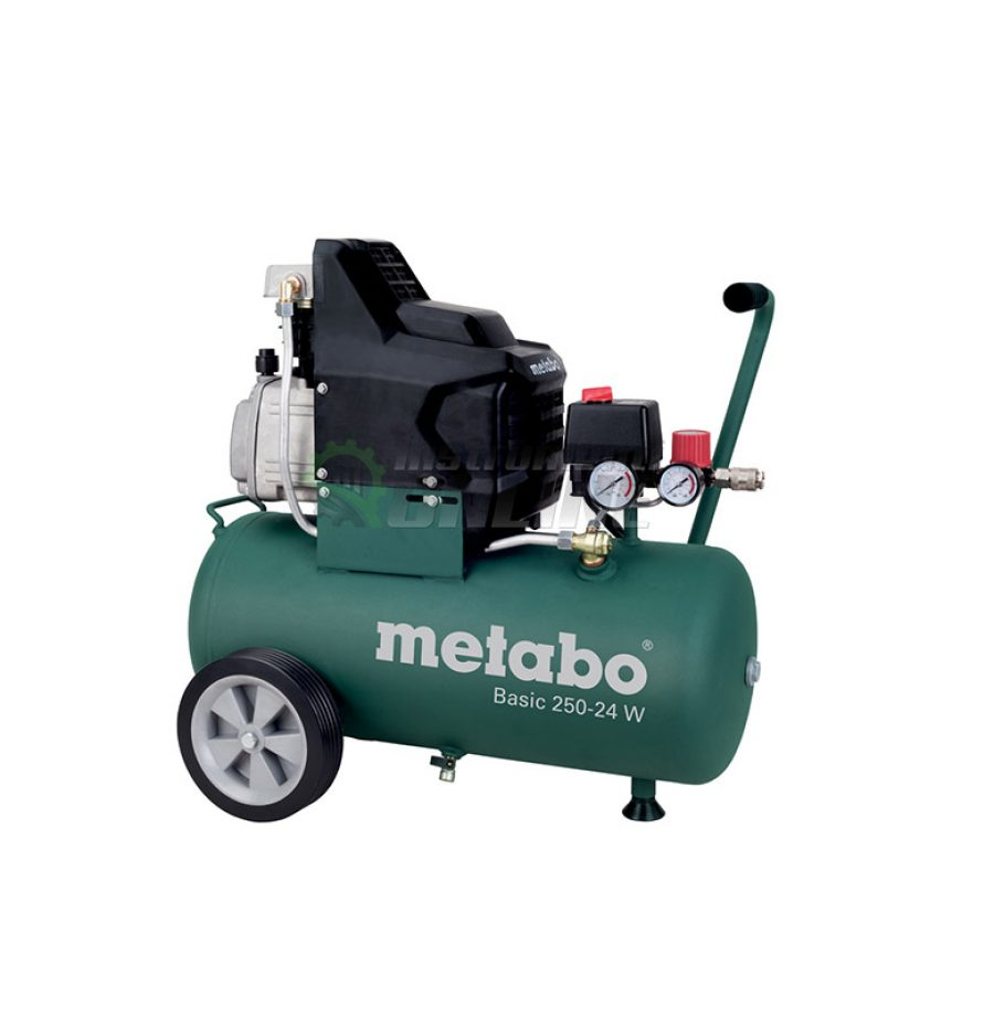 Компресор, 24 литра, 1500 W, Metabo, BASIC, 250-24 W