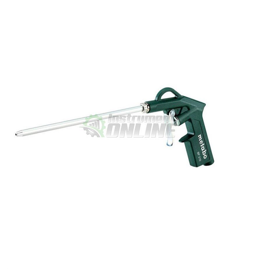 Пневматичен пистолет, пистолет, пневматичен, удължен пистолет, пистолет за обдухване, BP 210, Metabo
