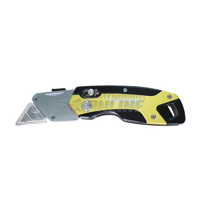 Сгъваем нож, алумниев нож, макетен, нож, макетен нож, 4 резеца, Topmaster, Professional