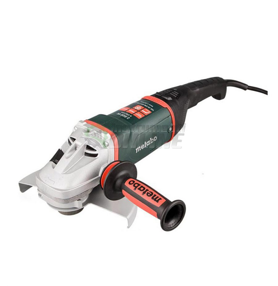 Ъглошлайф, Ъглошлайф 230, 2600 W, Metabo, WE 26-230 MVT, QUICK