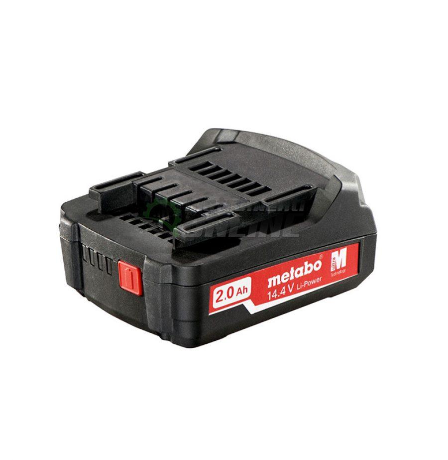Акумулаторна, батерия, Акумулаторна батерия, 14.4V 2Ah, Li-Power, Metabo