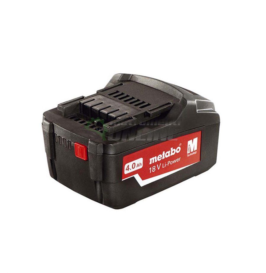 Акумулаторна батерия, Акумулаторна, батерия, 18 V, 4Ah, Li-Power, Metabo