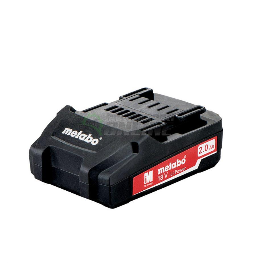 Акумулаторна батерия, Акумулаторна, батерия, 18.0V, 2.0Ah, Li-Power, Metabo
