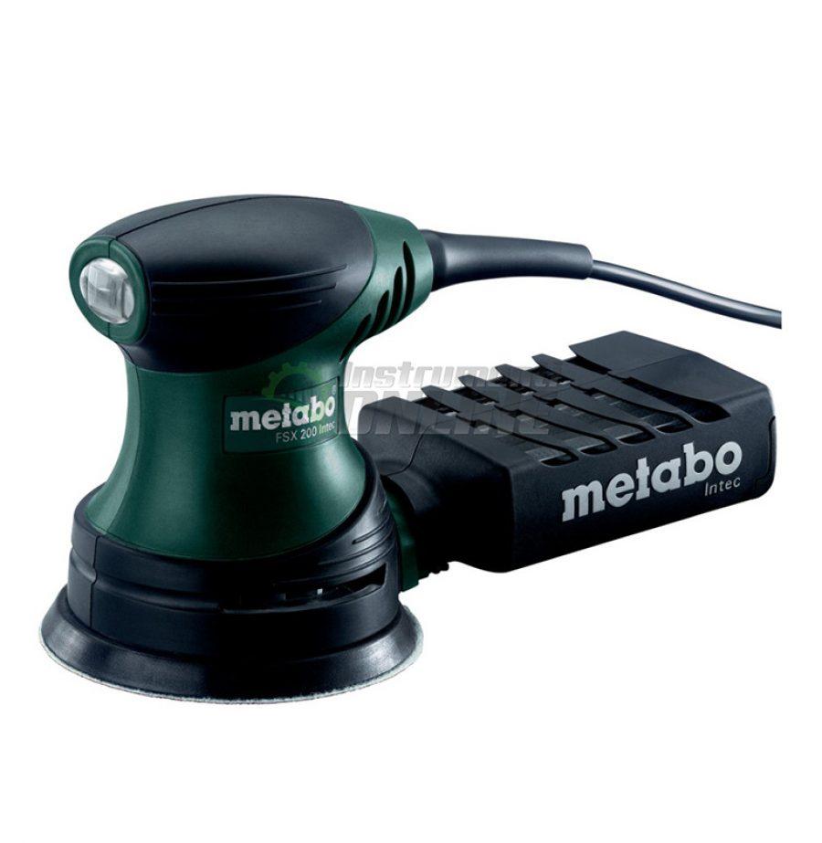 Ексцентършлайф, 240 W, 125 мм, Metabo, FSX 200, INTEC