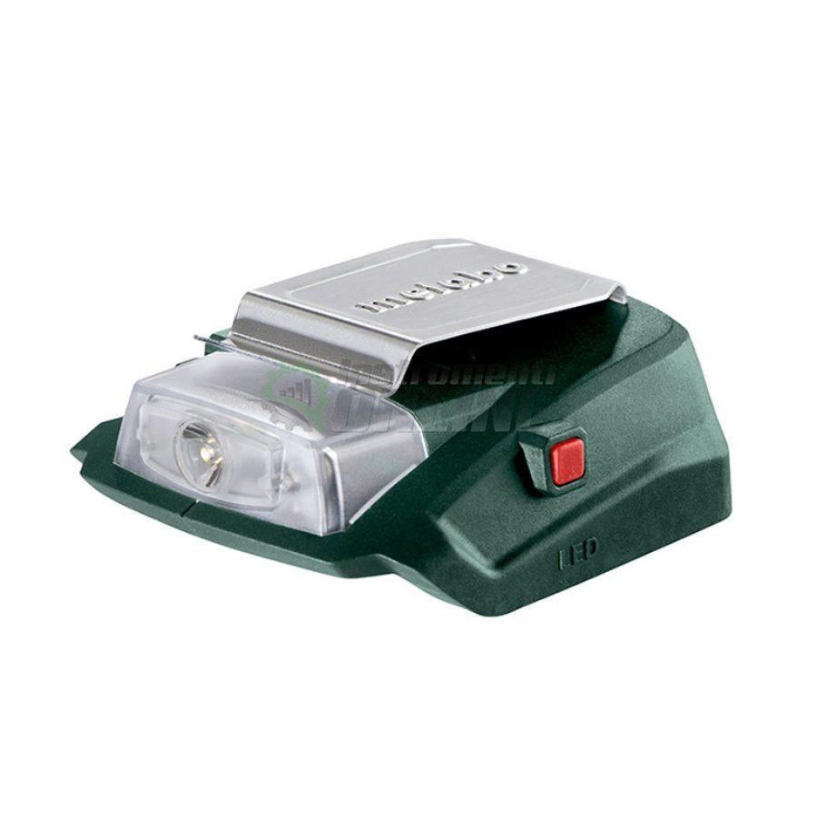 USB, акумулаторно, зарядно 2, фенер, Metabo PA, 18 LED