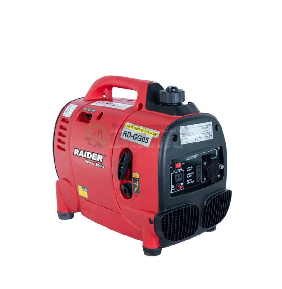 Бензинов, генератор за ток, 1kW, инверторен, RD-GG05, Raider, бензинов генератор, генератор