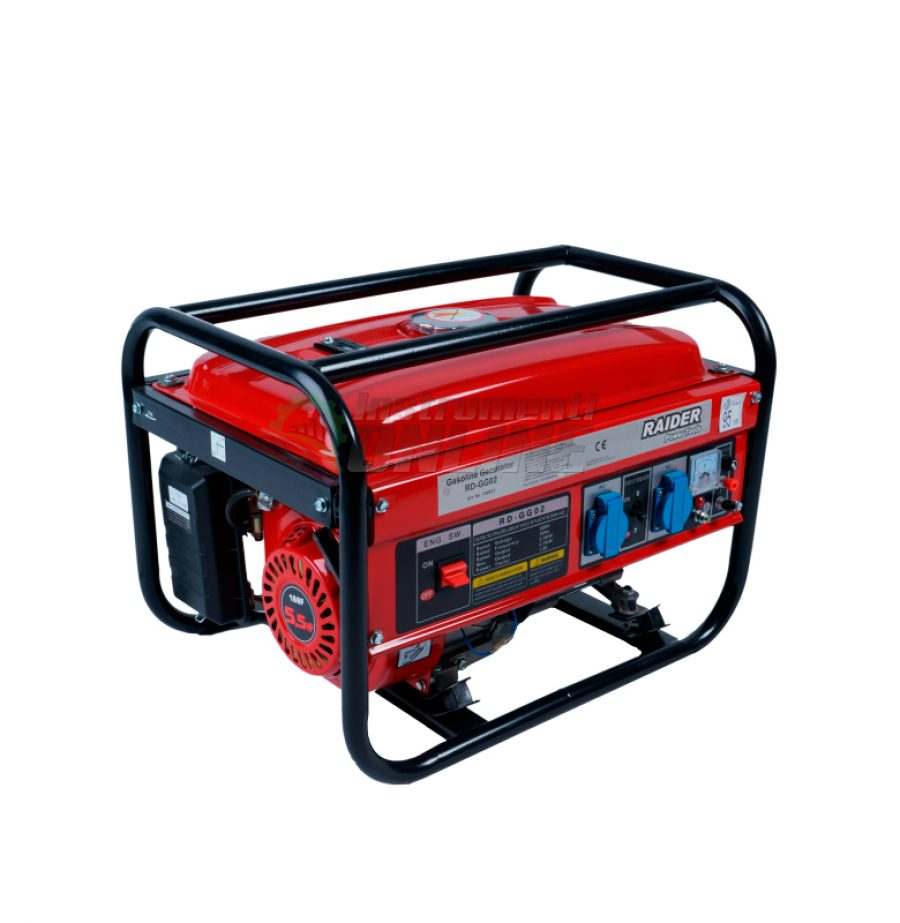 Бензинов, генератор за ток, 2kW, RD-GG02, Raider, генератор, бензинов генератор