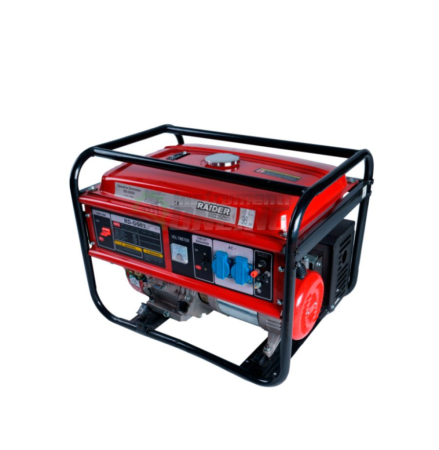 Бензинов генератор за ток, 5kW, RD-GG03, Raider, генератор