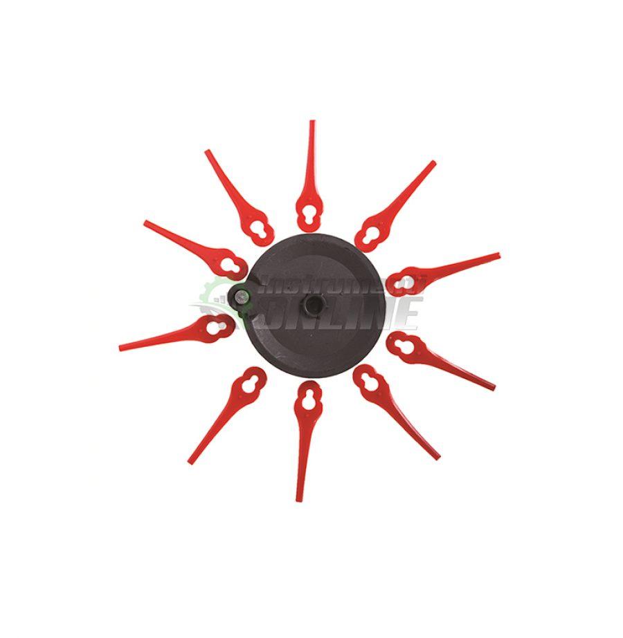 Диск, 10 броя, диск с ножчета, диск за акумулаторен тример, диск за RD-GTL22, Raider, диск Raider
